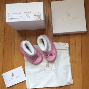 MINT Authentic GUCCI Little Girls Size 3 Booties